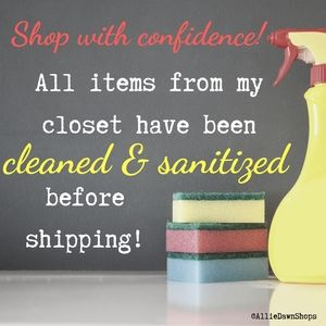 ⛔ Shop with confidence!